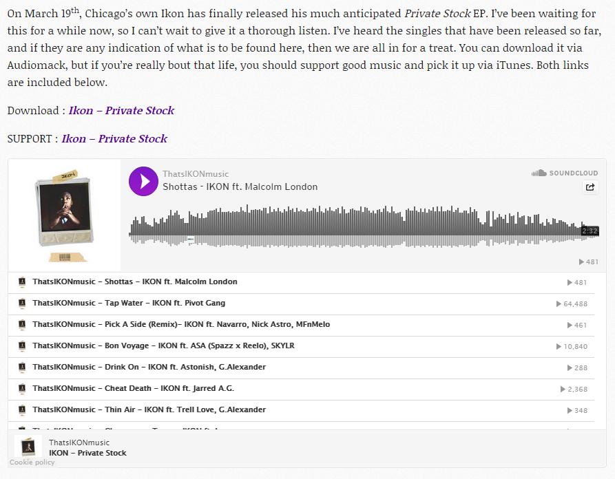HHYW w Soundcloud